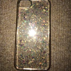 Accessories - iphone 6/7/8 case glittery